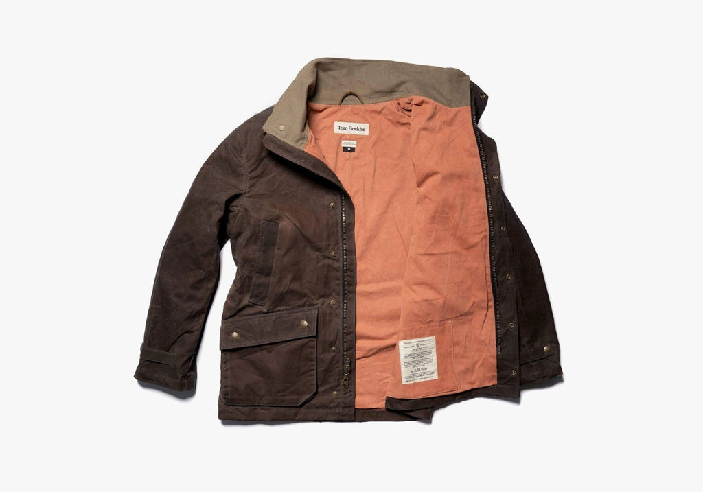 The Tom Beckbe Rye Brown Tensaw Jacket Outerwear- Ledbury