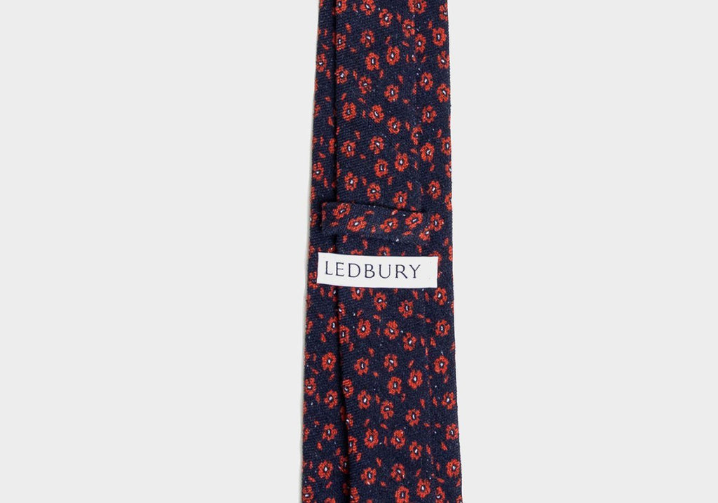 The Navy Ansdell Tie Tie- Ledbury