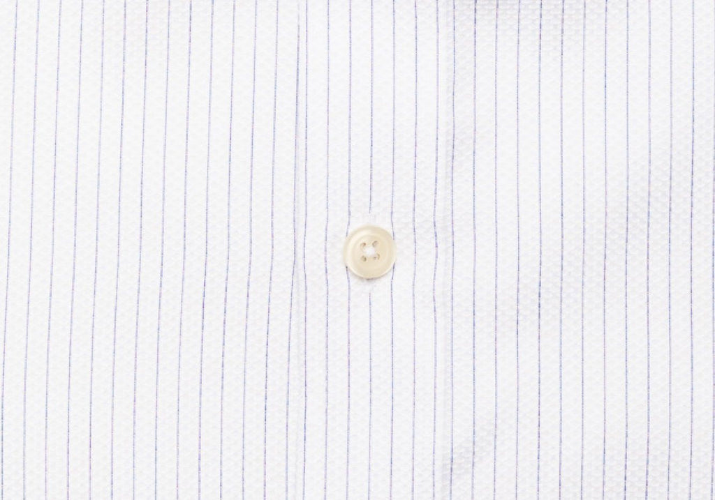 The White Ashby Stripe Dress Shirt Dress Shirt- Ledbury