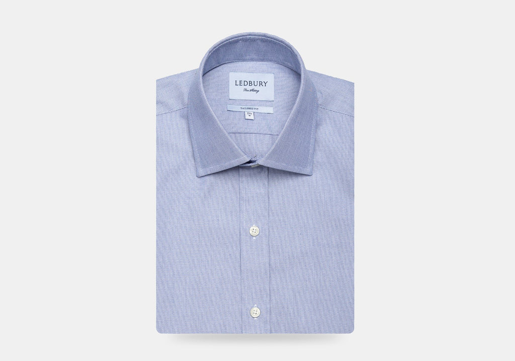 The Blue Walcott Dress Shirt Dress Shirt- Ledbury