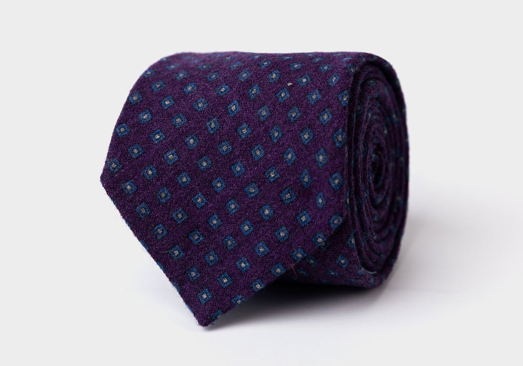 The Plum Concord Tie Tie- Ledbury