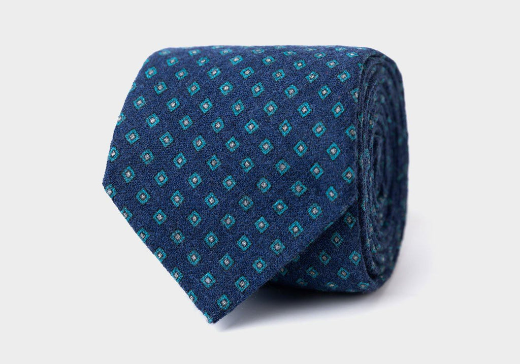 The Deep Blue Concord Tie Tie- Ledbury