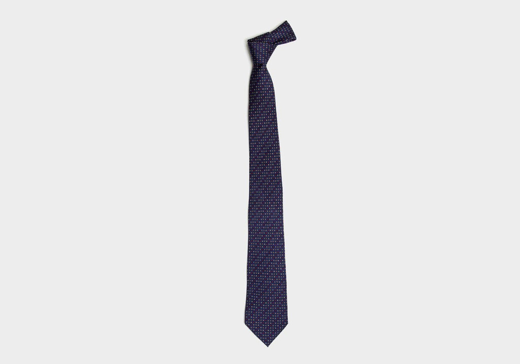 The Navy Deming Tie Tie- Ledbury