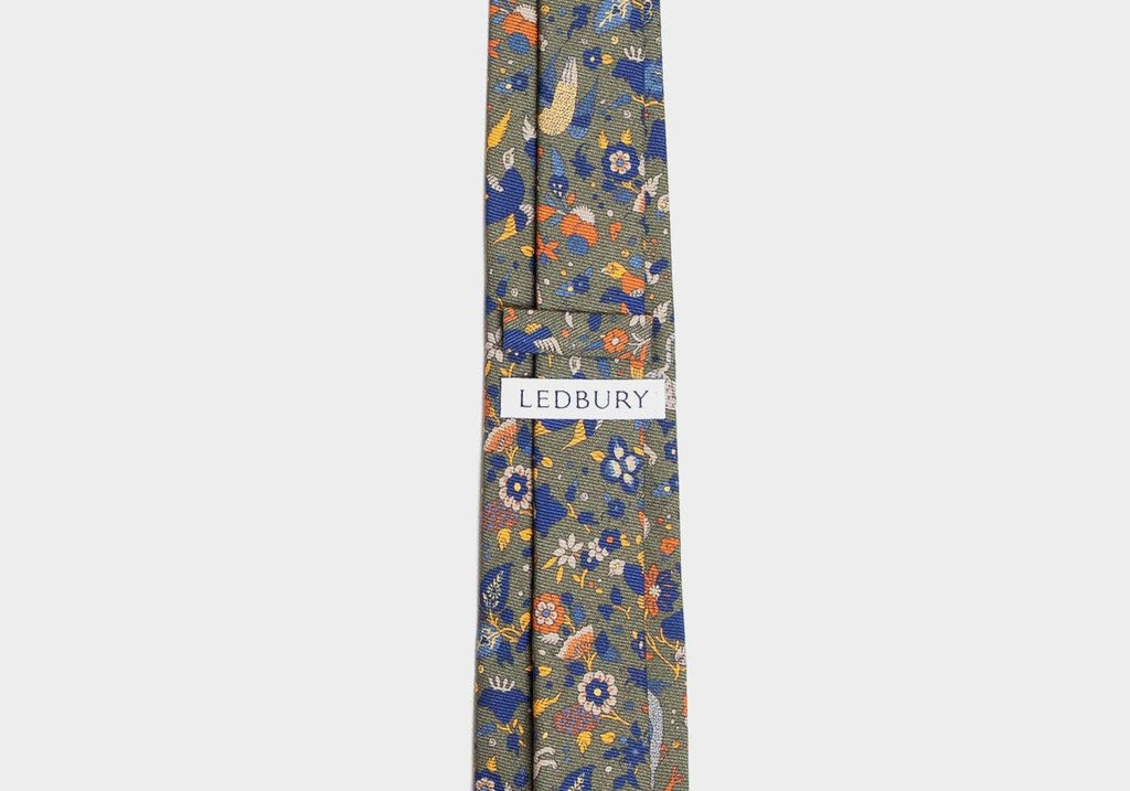 The Olive Derry Tie Tie- Ledbury