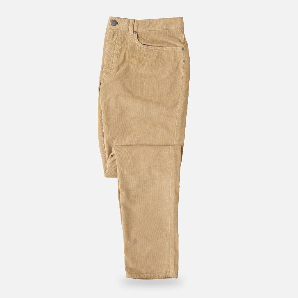 The Sand Franklin 5-Pocket Corduroy Pant Pants- Ledbury