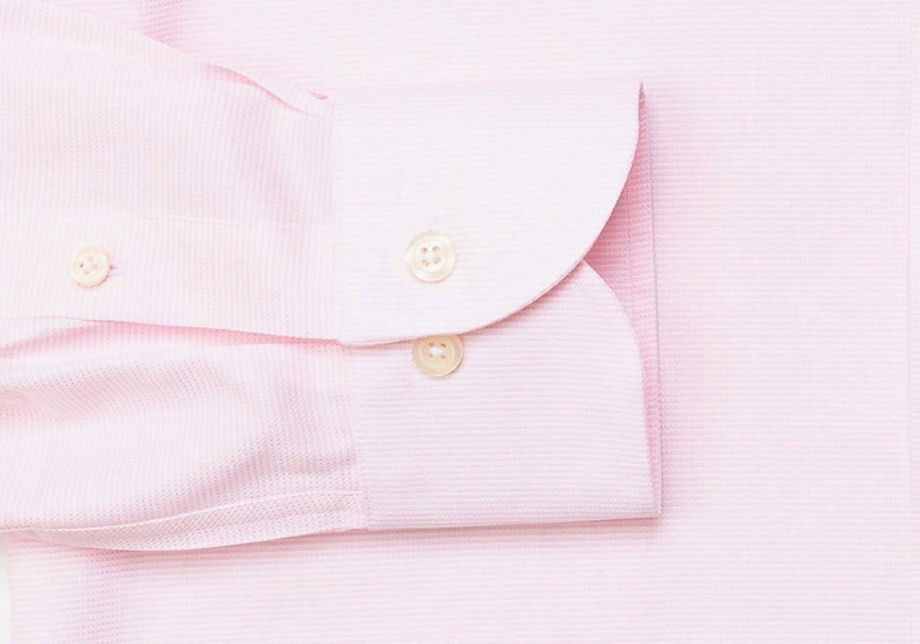 The Pink Freeman Oxford Dress Shirt Dress Shirt- Ledbury
