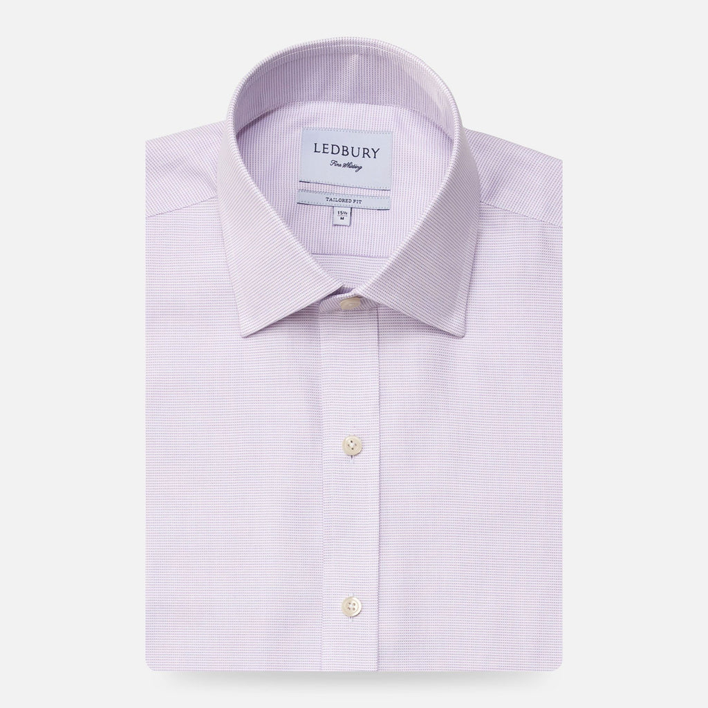 The Lavender Freeman Oxford Dress Shirt Dress Shirt- Ledbury