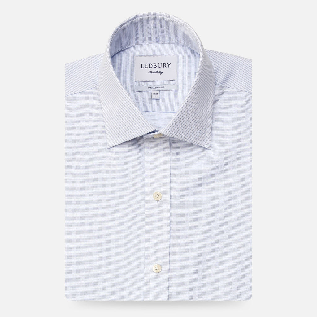 The Light Blue Freeman Oxford Dress Shirt Dress Shirt- Ledbury