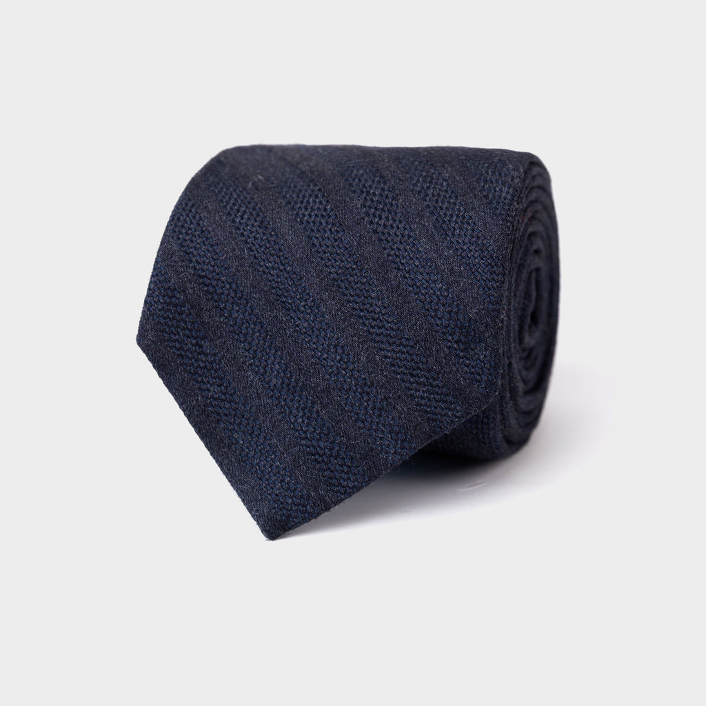 The Midnight Blue Goethe Tie Tie- Ledbury