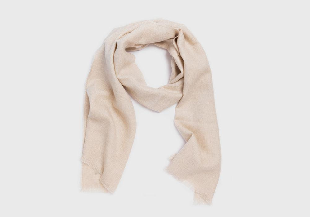 The Natural Hampden Merino Scarf Scarf- Ledbury