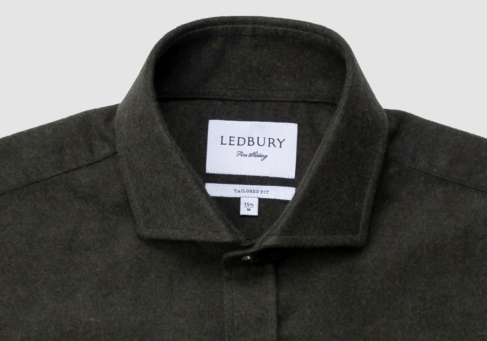 The Loden Heather Heyming Moleskin Casual Shirt Casual Shirt- Ledbury