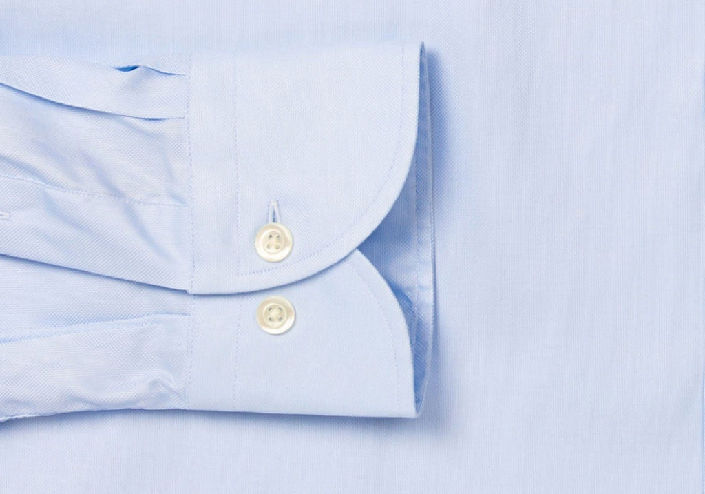 The Blue Hudson Pinpoint Oxford Dress Shirt Dress Shirt- Ledbury