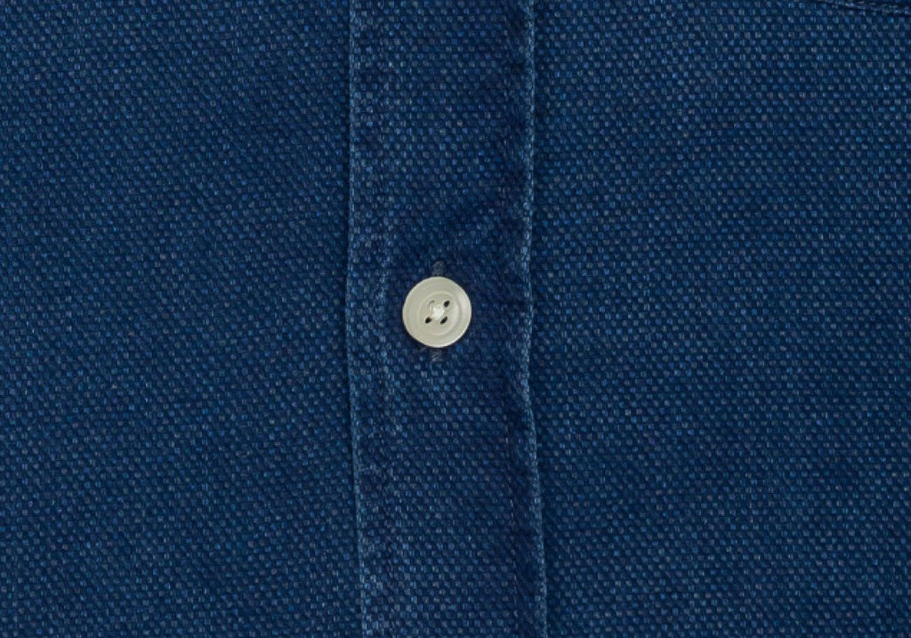 The Washed Blue Indigo Arnett Casual Shirt Casual Shirt- Ledbury