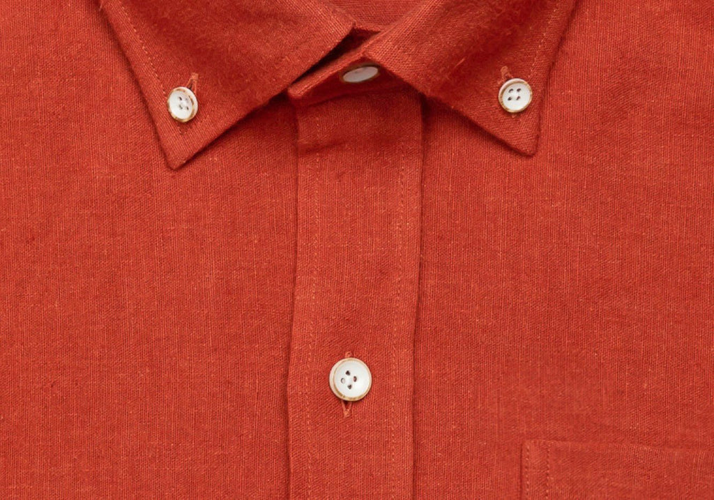 The Autumn Orange Kirtland Casual Shirt Casual Shirt- Ledbury