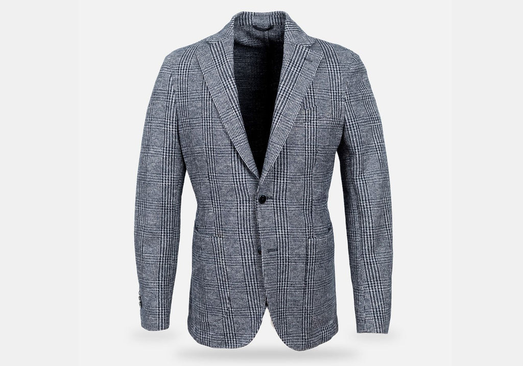 The Navy Lansdowne Sport Coat Blazer- Ledbury