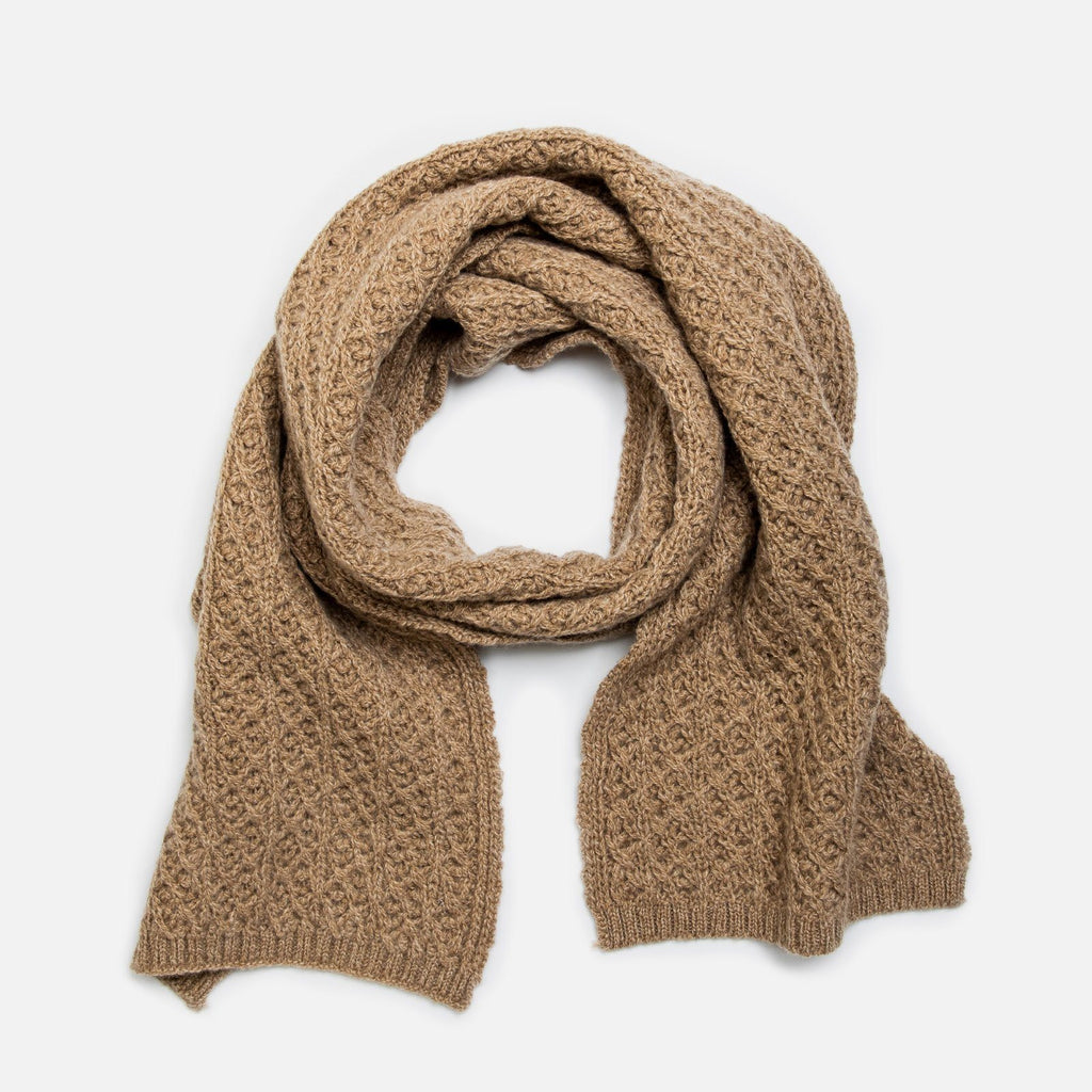 The Caramel Heather Whittington Scarf Scarf- Ledbury