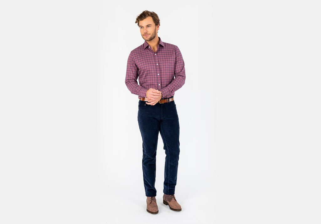 The Currant Wiltsie Check Casual Shirt Casual Shirt- Ledbury