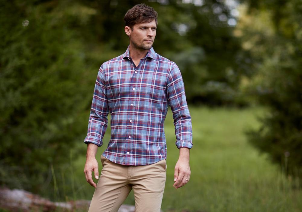 The Red Avondale Plaid Casual Shirt