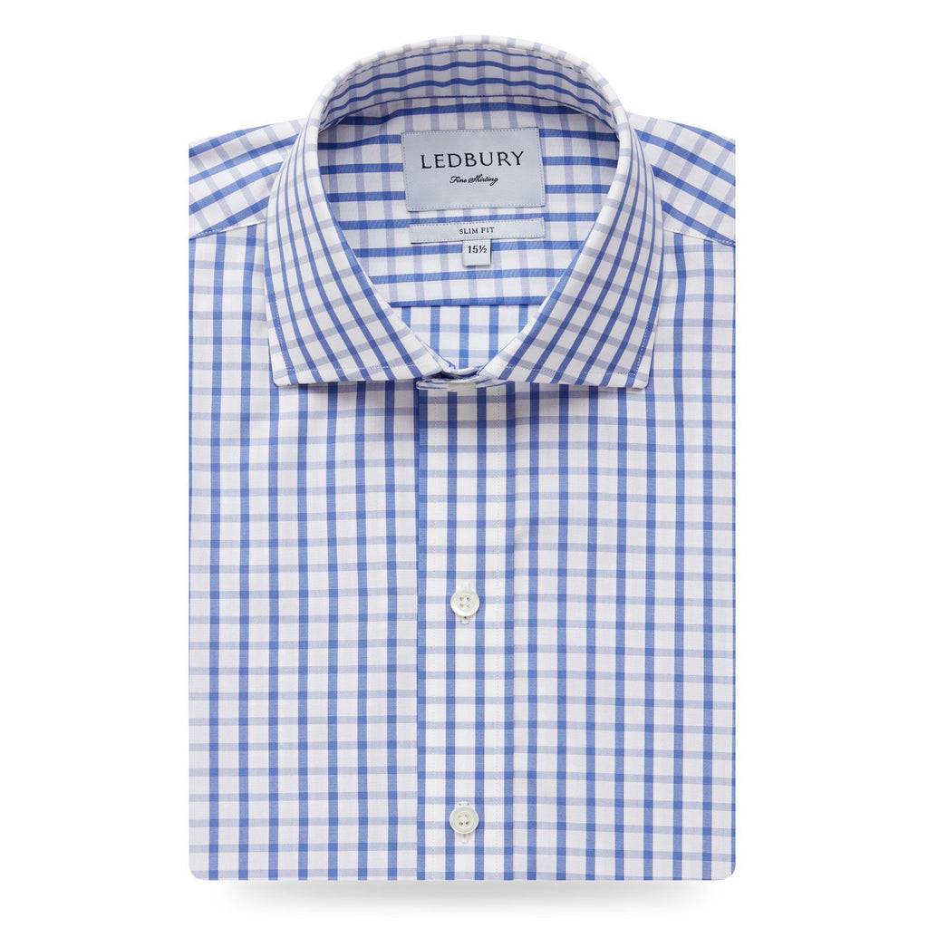 The Urbana Box Check Dress Shirt