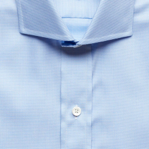 The Light Blue Easley Houndstooth Dress Shirt