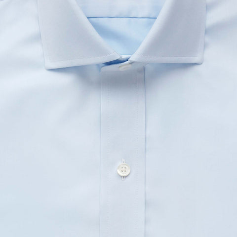 The Light Blue Owen Fine Twill Dress Shirt