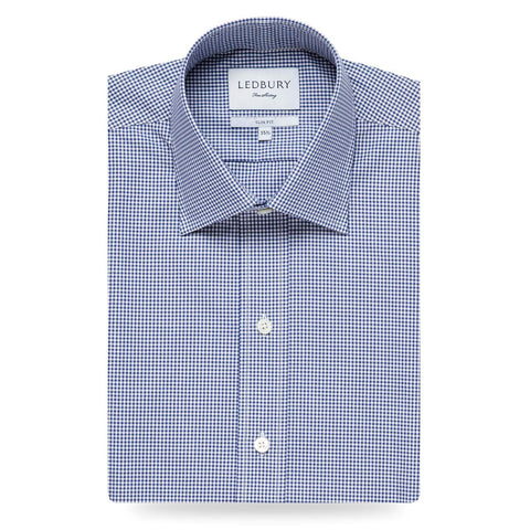 The Royal Blue Gingham Poplin