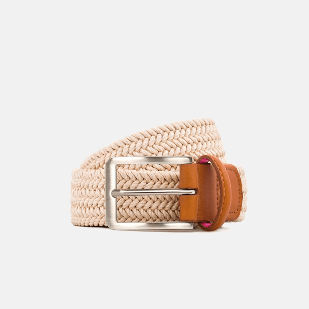Cream Terra Belt Belts- Ledbury