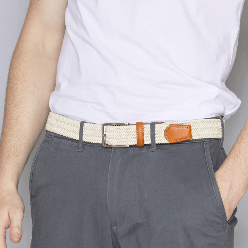 Beltology Cream Terra Belt Belts- Ledbury