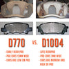Hawk High Performance Street Brake Pads - 02-03 WRX