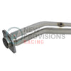aFe Power Twisited Steel Downpipe Street Series - 08-14 WRX / 08-18 STI