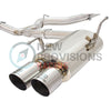 "aFe Power 3"" Stainless Steel Catback Exhaust Polished Tips - 15-20 WRX/STI"