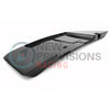 APR Carbon Fiber License Plate Backing - 15-20 WRX/STI