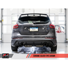 AWE Track Edition Cat Back Exhaust Diamond Black Tips - 16+ Focus RS