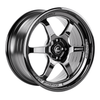 Cosmis Racing XT-006R 18x9 5x114.3 +30 Black with Machined Spokes Wheel - Universal