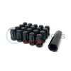 Circuit Performance Star Spine Drive Lug Nuts Black 12x1.25 - Universal