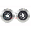 DBA T2 Street Series Slotted Brake Rotors Front Pair - 04-17 STI