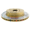DBA 4000 Series Drilled/Slotted Brake Rotor Rear Pair - 04-07 STI