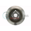 DBA 4000 Series T3 Slotted Brake Rotors Rear Pair - 15-19 WRX