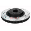 DBA 4000 Series T3 Slotted Brake Rotors Front Pair - 15-19 WRX