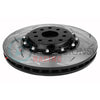 DBA 5000 Series T3 Slotted 2-Piece Rotor Front Pair - 04-17 STI