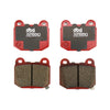 DBA XP650 Track Performance Rear Brake Pads - 04-17 STI