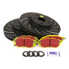 EBC Brakes S5 Front Brake Kit Yellowstuff Pads / 3GD Rotors - 15+ WRX