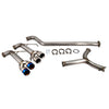 ETS Extreme Catback Exhaust System w/ Blue Tips - 15-18 WRX/STI