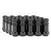 Gorilla M12x1.25 Forged Steel Racing Black Chome Lug Nuts - Universal