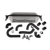 GrimmSpeed Front Mount Intercooler Kit Silver Core Black Piping - 15-20 WRX