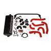 GrimmSpeed Front Mount Intercooler Kit Black Core Red Piping - 15-20 WRX
