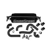 GrimmSpeed Front Mount Intercooler Kit Black Core Black Piping - 15-20 WRX