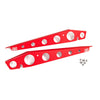 GrimmSpeed Fender Shrouds Red - 15-20 WRX/STI