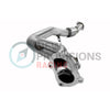 GrimmSpeed LIMITED Downpipe Divorced Catted - 08-14 WRX / 08+ STI / 05-09 LGT