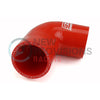 GrimmSpeed Top Mount Intercooler Silicone Coupler Kit Red - 04+ STI / 02-07 WRX